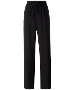 Jil Sander | Drawstring Trousers 34 Cotton/Acetate/Viscose