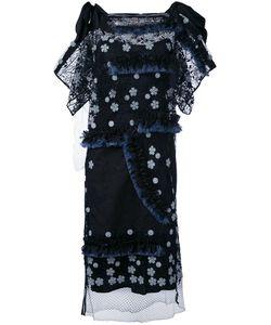 Antonio Marras | Платье С Цветочным Принтом И Бахромой