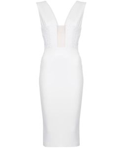 ALEX PERRY | Kyle V-Back Fitted Dress Women