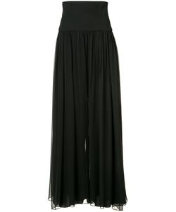 Monique Lhuillier | Flared Pleated Trousers