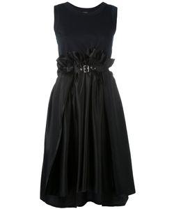 Comme Des Garçons Noir Kei Ninomiya | Платье С Пряжкой На Талии