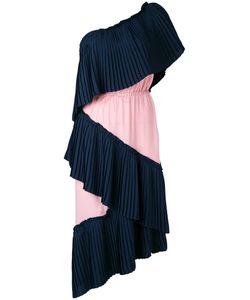 Marco De Vincenzo | Плиссированное Платье На Одно Плечо