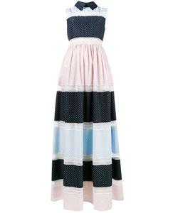 Huishan Zhang | Длинное Платье Без Рукавов С Рисунком
