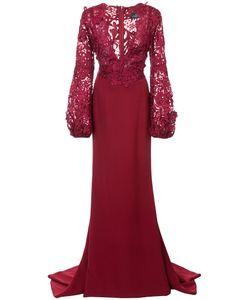 J. Mendel | Кружевное Платье С V-Образным Вырезом