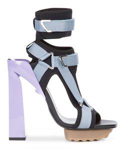 Versace | Босоножки На Платформе С Т-Образным Ремешком
