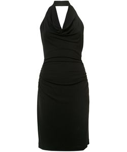 Nicole Miller | Cowl Neck Halter Dress