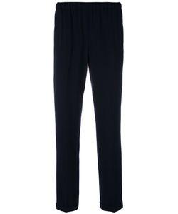 Alberto Biani | Drawstring Cropped Trousers 46 Triacetate/Acetate/Viscose/Polyester