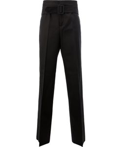 Yang Li | Belted Tailored Trousers Size 46
