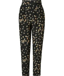 ANDREA MARQUES | High Waist Printed Trousers Women
