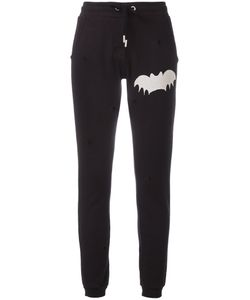 Zoe Karssen | Worn-Out Effect Track Pants Small Cotton