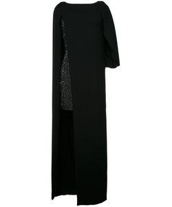 Monique Lhuillier | Overlay Dress 4 Silk/Nylon/Polyester