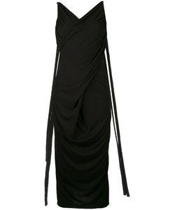 Rick Owens Lilies | Платье Миди С Глубоким Вырезом Сзади