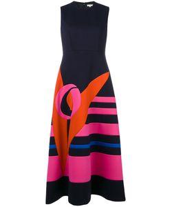 Delpozo | Printed Flared Dress