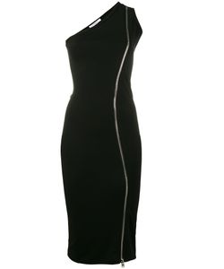 Givenchy | One-Shoulder Zip Dress 34 Viscose/Spandex/Elastane