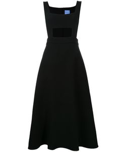 Macgraw | Antoinette Apron Dress 6 Acetate/Polyester