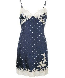 Christian Dior Vintage | Lace Trim Slip Dress 42