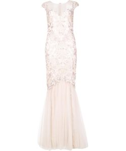 Marchesa Notte | Embroide Gown 4 Nylon