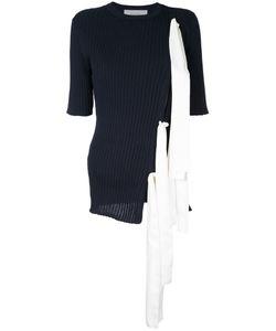 LE CIEL BLEU   Ribbon Knit Top Women