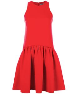 Alexander McQueen | Flare Pleated Dress 40 Virgin Wool/Polyamide/Silk