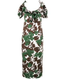 Rosie Assoulin | Blooming Onion Tropical Print Dress Size 4