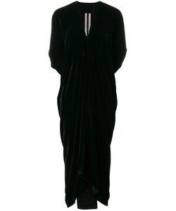 Rick Owens | Бархатное Платье С V-Образным Вырезом