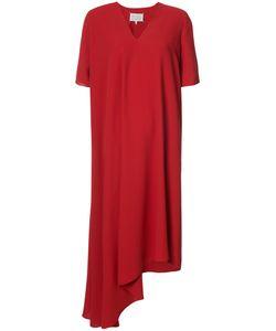 Maison Margiela | Асимметричное Платье С Драпировкой
