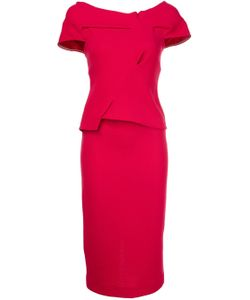 Roland Mouret | V-Back Dress