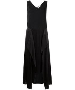 ASTRAET | Асимметричное Платье С Шелковыми Панелями