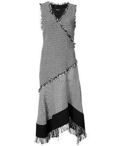 Derek Lam   Твидовое Расклешенное Платье