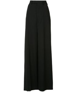 Rick Owens | Wide-Leg Trousers 42 Virgin Wool/Spandex/Elastane