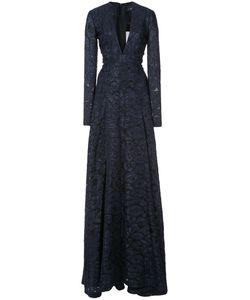 J. Mendel   А-Образное Платье С Леопардовым Принтом