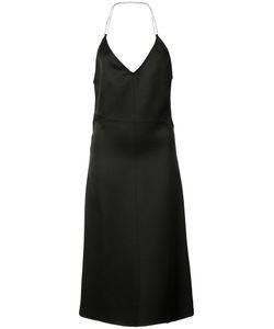Barbara Casasola | Flared Backless Dress Size 40