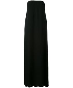 Cedric Charlier | Cédric Charlier Strapless Long Dress Size