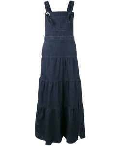 See By Chloe | See By Chloé Tiered Denim Maxi Dress