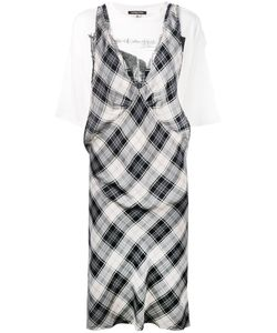 R13   Checked Dress Size Medium