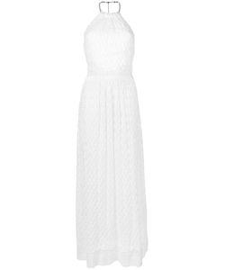 Missoni | Halterneck Dress 40 Plastic/Brass/Rayon/Viscose