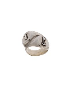 HENSON | Keys Double Signet Ring Adult Unisex Xl