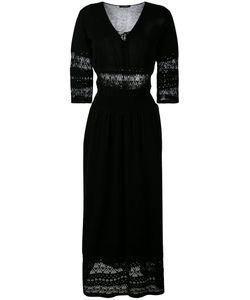 Roberto Collina | Длинное Платье С Резным Узором
