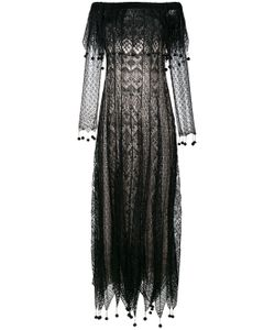Alexander McQueen | Pom Pom Lace Dress