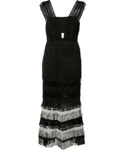 Jonathan Simkhai   Fringed Dress Size 4