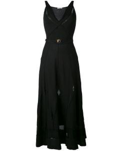 Versace Collection   Sleeveless Midi Dress