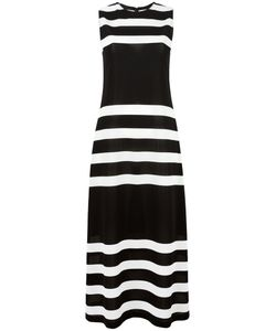 Calvin Klein Collection | Stripes Fitted Dress 40 Polyamide/Spandex/Elastane/Viscose