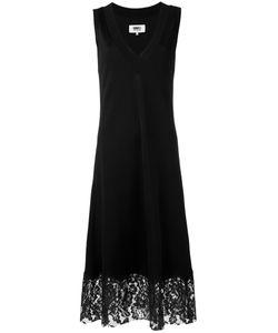 MM6 by Maison Margiela | Платье Шифт С Кружевной Отделкой