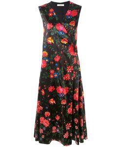 Celine Vintage | Платье С Цветочным Принтом
