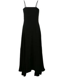 Mcq Alexander Mcqueen | Asymmetric Hem Dress 44 Polyester/Triacetate/Spandex/Elastane