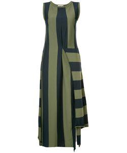 Hache | Asymmetric Striped Dress 42