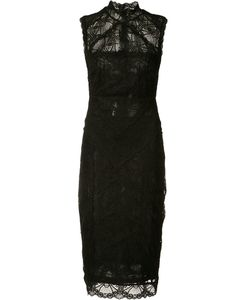 Nicole Miller | Lace Fitted Dress
