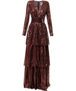 INGIE PARIS | Sequined Layered Gown Women