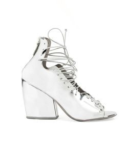 Marsell | Marsèll Lace-Up Block Heel Sandals Size 36