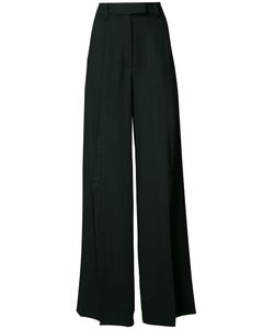 Ann Demeulemeester | Slit Palazzo Pants 42 Wool